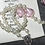 Thumbnail: Personalized Rosary Beads (pearl large pink heart)