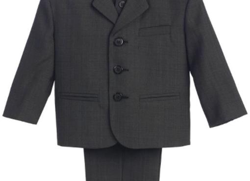 First Communion Suit - Dark Grey