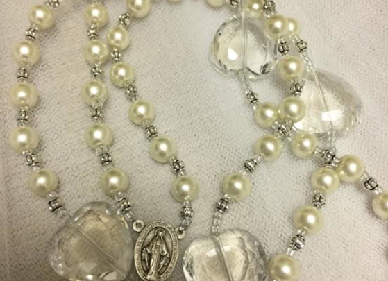 PERSONALIZED ROSARY BEADS