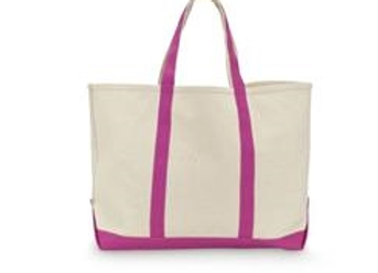 Pink Watermelon Canvas Tote