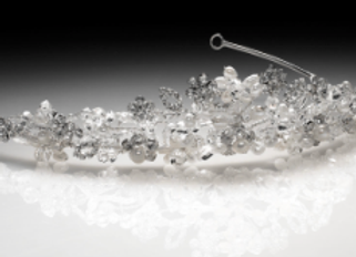 Christie Helene designer tiara- ME3082  IN STOCK