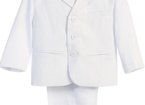 First Communion Suit - White