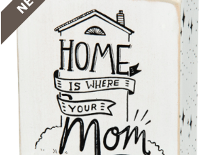 #27669 - Box Sign - Home Is