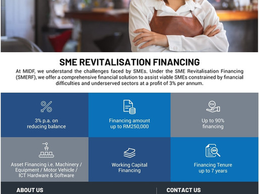 SME Revitalisation Financing Scheme (SMERF)