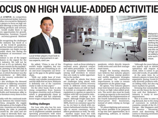 FOCUS ON HIGH VALUE-ADDED ACTIVITIES
