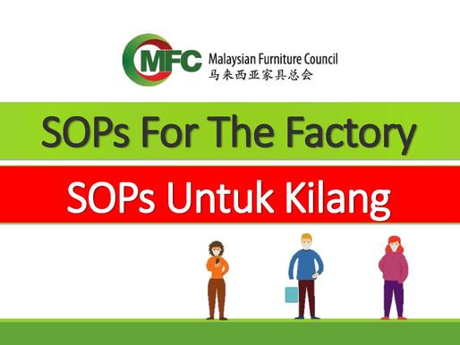 Notice on SOP within the factory premise / 工厂须遵守的标准作业程序
