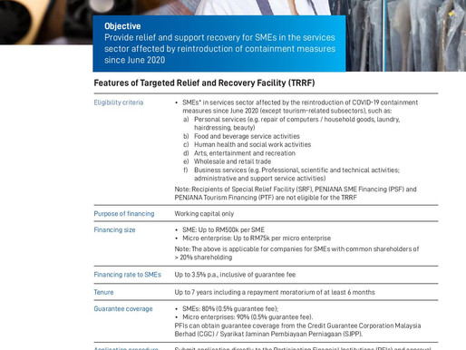 Targeted Relief and Recovery Facility (TRRF)