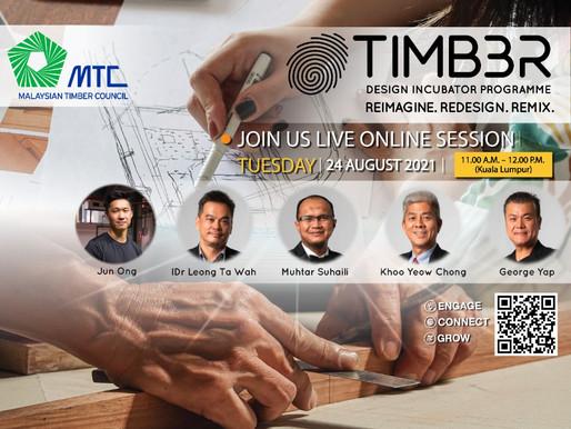MTC TIMB3R Design Incubator Programme Online session