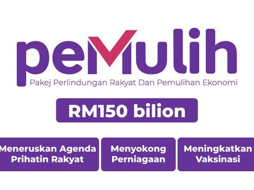 PM Unveils RM150bil PEMULIH Aid Package