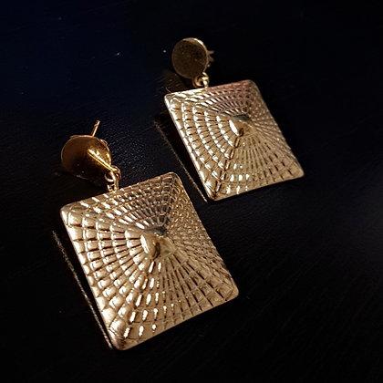 Aretes Dorado Símbolo