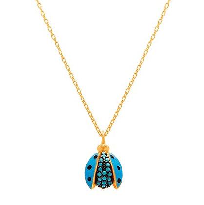 Cadena Dorada y Escarabajo Azul