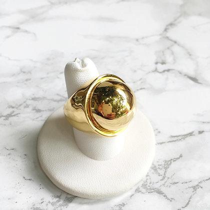 Anillo Dorado Esfera