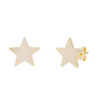 Aretes Dorados Estrella (Star)