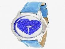 """Reloj """"Heart"""" Via Nova Azul"""