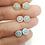 Thumbnail: Aretes Tres Tonos y Ópalo Azul