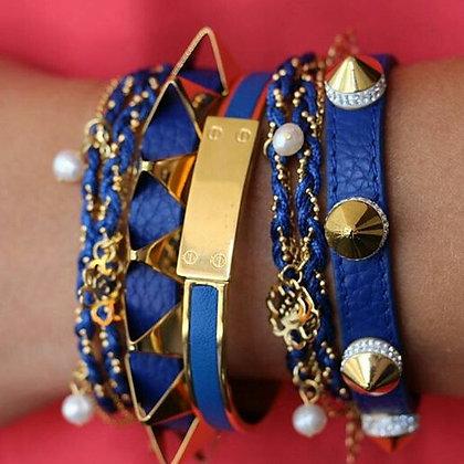 """Brazalete Azul """"Love"""" Inspirado en Cartier"""