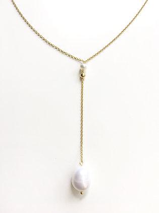 Cadena Dorada y Perlas
