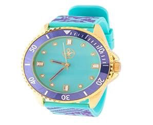Reloj Fortune NYC Morado y Turquesa