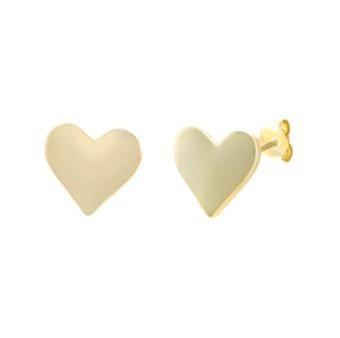 Aretes Dorados Heart (Corazón)