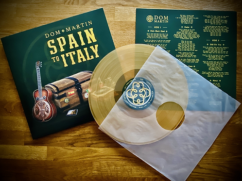 Spain To Italy Coloured Vinyl LP