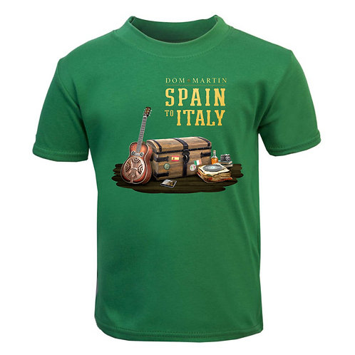 Spain To Italy T-Shirt Size L