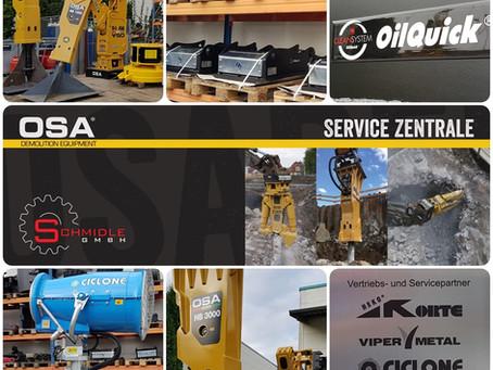 Offizielle OSA Service Zentrale