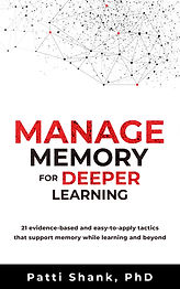 BDT ebook cover Manage memory for deeper learning 2018_11.jpg