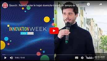 interview du CEO de Search Mobility lors de l'innovation week