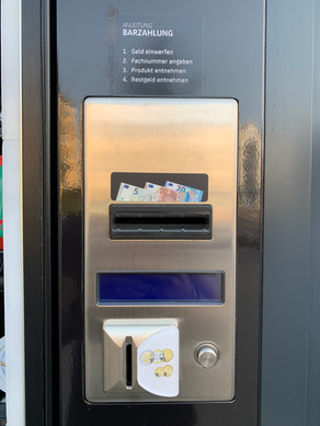 24/7 Automat | Bargeldzahlung | Crystal Apotheke Rosenheim