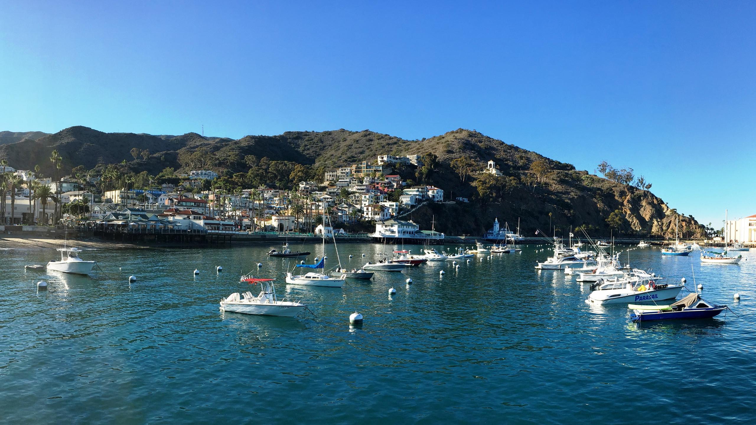 Avalon on Catalina Island