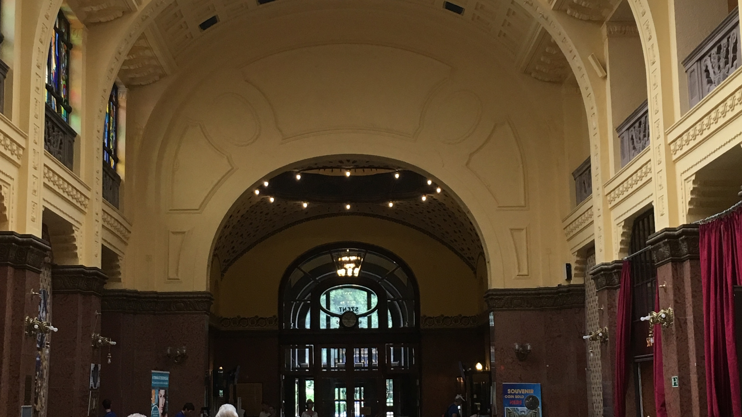 Lobby of Gellert Bath