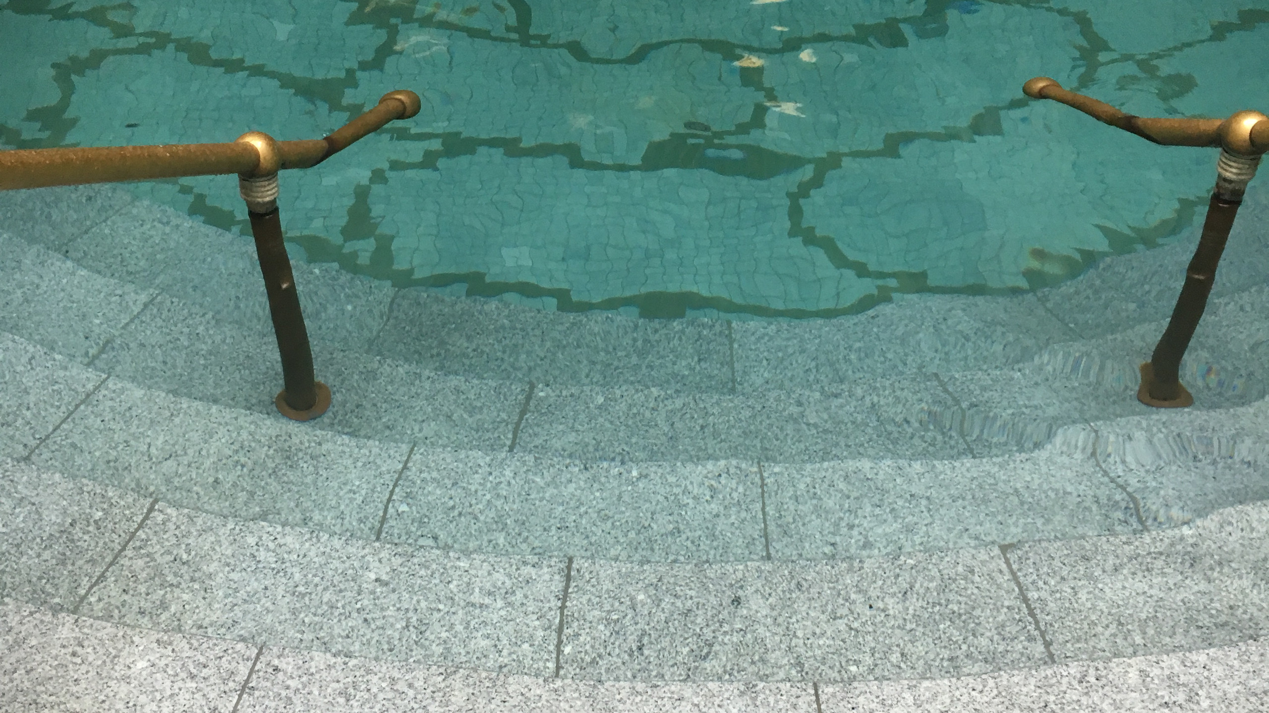 The pool I entered.