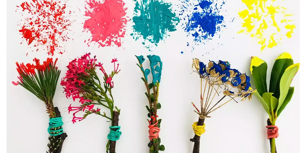 Mother Nature Preschool Painting Class Ages 2-5