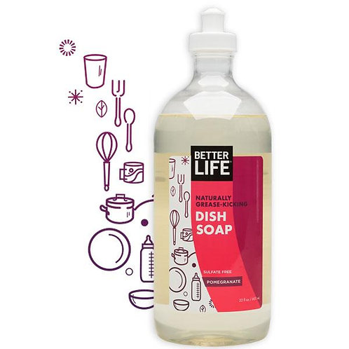 Dish Soap 22 oz Pomegranate Scented