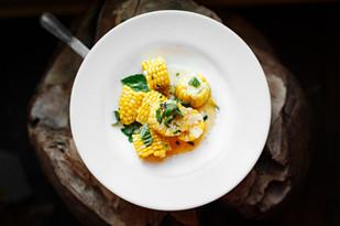 midwest food Sweet Corn Basil Sauce image