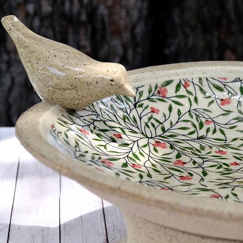 Ceramic Bird Bath | Made-to-Order