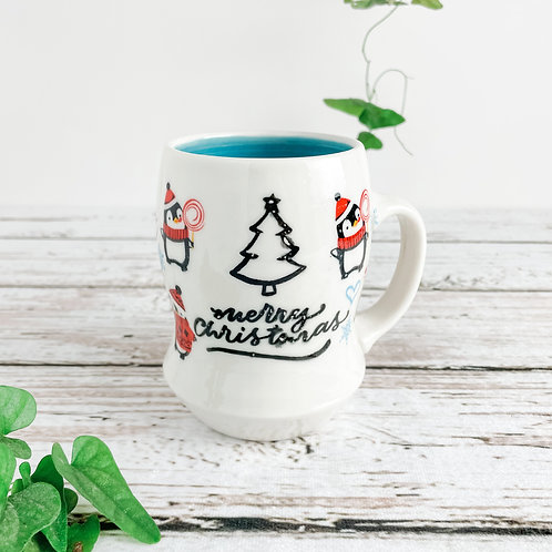 Penguin Christmas Mug