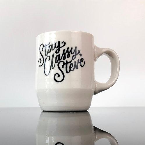 Stay Classy, Steve Mug | Orange