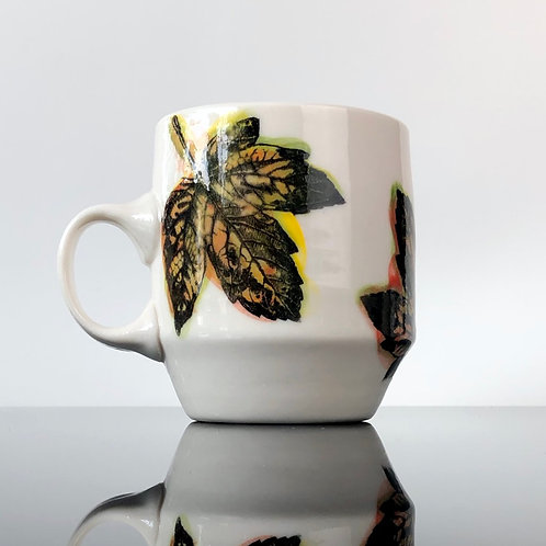 Leafy Mug | Orange Inside