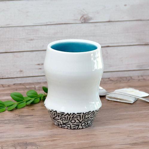 Blue Mod Cup