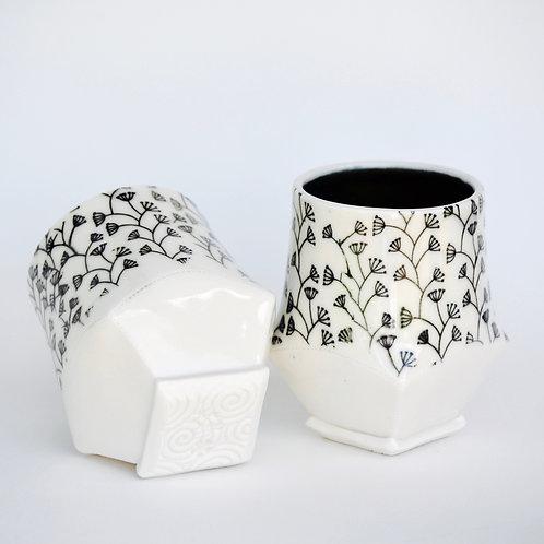 SINGLE: LEFT - Flower Stems Cup