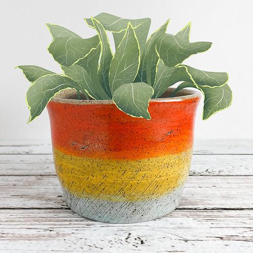 Large Colorful Planter