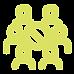 Ícone simbolizando controle de quantiade de pessoas