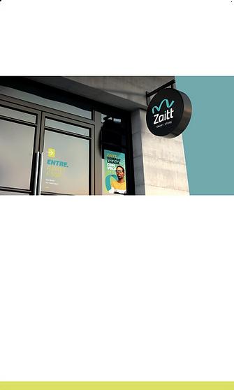 Ponto fixo de uma das lojas autônomas da Zaitt, a primeira smart store da América Latina