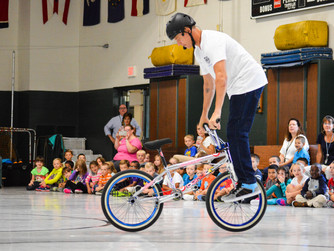 #Antibullying Bike Stunt Shows