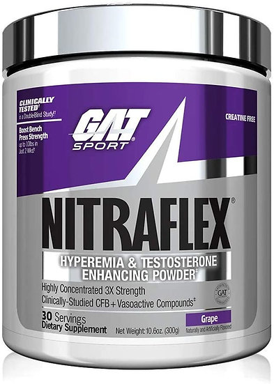 Nitraflex by GAT - USA VERSION - NUMBER ONE SELLING PRE-WORK - NOTHING IS BETTER