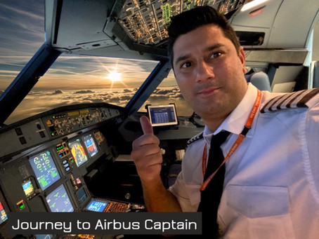 Capt. Faraz (@FlightCopilot) - My journey to becoming an Airline Pilot.