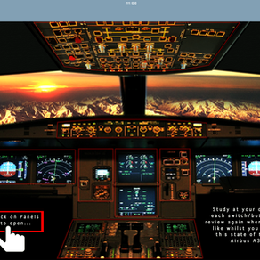 Switch 320 - Airbus A319/320 Pilot Training iOS application.
