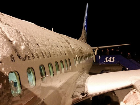 Winter Flying - Deicing.