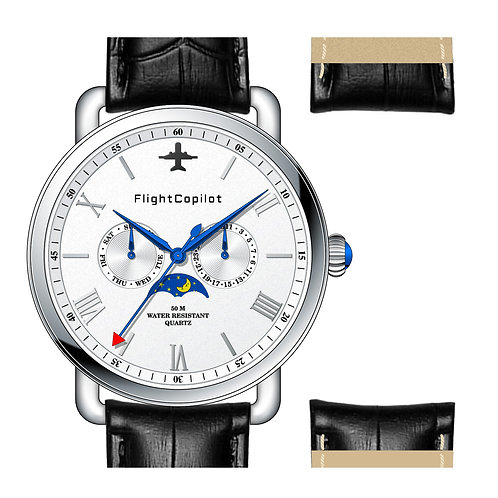 COMING SOON - Flight Copilot Men's Pilot Watch